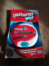 New Electronic Catch Phrase Hasbro Game 2013 Decades Family Game Hand Held