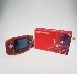DIY Game Boy advanced GBA IPS V2 backlight brightness adjusted red Rockman style