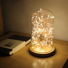 LED Firework Glass Table Light