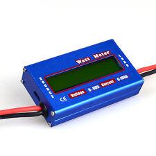 Digital DC combo Meter LCD Watt Power Volt Amp RC Battery charging Analyzer M