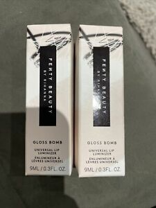 2 Fenty Beauty Gloss Bomb Universal Lip Luminizer Fussy Brand New Gift Idea 🎁