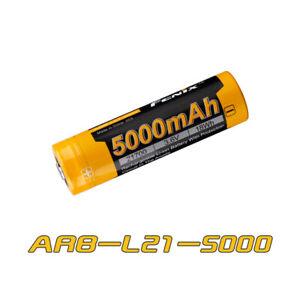 Fenix ARB-L21-5000 5000mAh for PD36R PD40R V2 TK22UE - 1pcs