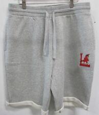 Louisville Cardinals NCAA STARTER Men's Sweatpant Shorts Gray L