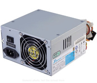 1x PC ATX PSU, Desktop Computer Power Supply 200W-500W Great for DIY Projects