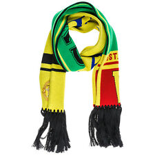 Versace Sciarpa Lana scarf Fringed Logo Multicolor