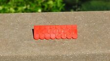 Playmobil  #G183  Red Roof  Trim Vintage Castle   Replacement Part Piece
