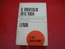 LENIN: IL RISVEGLIO DELL'ASIA. EDITORI RIUNITI 1970 PRIMA EDIZIONE! LE IDEE n.41