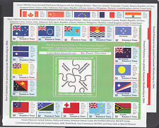 Tonga Sc 1190-1191 MNH. 2012 Pacific Islands Forum, cplt set of mini sheets, VF.