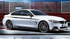 BMW ORIGINAL F32 F33 F36 M Rendimiento Negro Mate PALANCA Panel Juego Funda