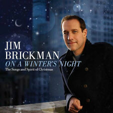 JIM BRICKMAN - ON A WINTER'S NIGHT: SONGS & SPIRIT OF CHRISTMAS - CD - Sealed