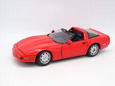 Maisto SB 1/18 - Chevrolet Corvette ZR1 Targa Rojo 1998