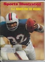 Sports Illustrated October 29 1973 OJ Simpson Rushes for the Record NM