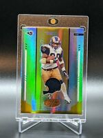 Marshall Faulk 2004 Leaf Certified Mirror Gold Game Used Patch #d 8/25 Rams #109