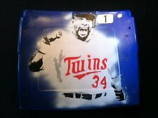Kirby Puckett Game Used #1 Metrodome Seat Back- Hand Airbrush Painted