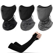 Ice Silk Magic Scarf+Ice Silk Oversleeve Outdoor Sport Sun Protection Antisweat