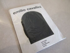 Vintage Emilio Cavallini BNIP M Black & Gold Bling Fleck Elegant Party Tights