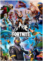 Fortnite Game DIY 5D Diamond Painting Embroidery Cross Craft Stitch Art Kit Deco
