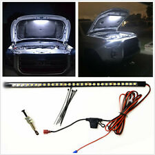 1pc Watterproof 36cm LED Panel Lights+Automatic Switch Fit For Car Engine Repair