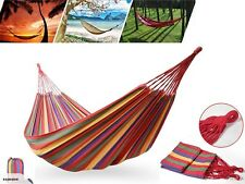 Canvas Hammock Hanging Swinging Camping Air Chair