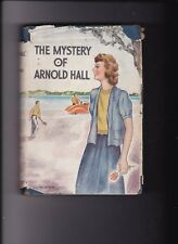 THE MYSTERY OF ARNOLD HALL---HELEN M. PERSONS---hc/dj---1934---THE SAALFIELD PUB