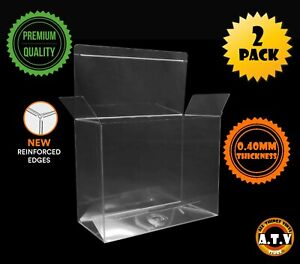 ATV Protectors / Cases / for 2 Pack Funko Pop Vinyl 0.4mm Thickness (1-10 pack)