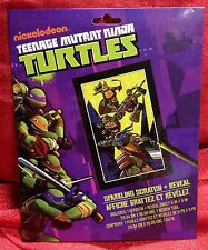 Teenage Mutant Ninja Turtles Sparkling Scratch and Reveal Activity Set 6x9 Inch