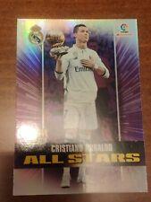 Cristiano Ronaldo REAL MADRID balón oro  (GOLD BALL) ALL STARS 17-18 MEGACRACKS