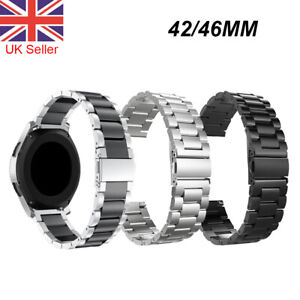 Strap For Samsung Galaxy Watch 42 46mm Stainless Steel Watch Wrist Band Metal