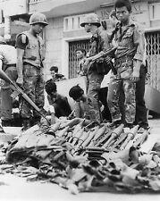 Vietnam War South Vietnamese Capture North Vietnamese & Interrogate 8.5x11 Photo