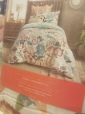 Opal House Twin Floral Comforter Set