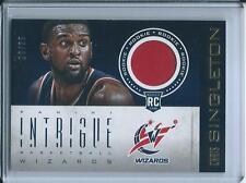 2012-13 Panini Intrigue Rookie Memorabilia Chris Singleton Washington Wizards