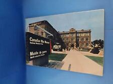 CANADIAN WAR MUSEUM NATIONAL MUSEUM MAN SOUVENIR BOOKLET TRAVEL FRENCH ENGLISH