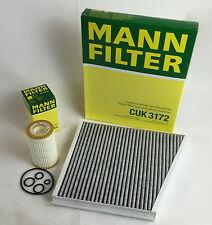 MANN-FILTER ÖLFILTER + AKTIVKOHLEFILTER MERCEDES W211 E240 280 320 350 CGI 500