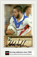 2003 Select NRL XL Future Force Signature Card FF36 Adam Woolnough (Knights)