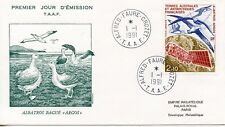 FDC / T.A.A.F. TERRES AUSTRALES TIMBRE PA N° 115 / FAUNE /