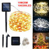 LED Solar String Light Lights Waterproof Copper Wire Fairy Outdoor Garden Party