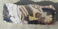 Medieval floor tile fragment about 600 years old