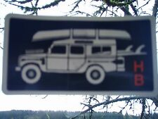 Howler Bros Surf Canoe Camp Fish Truck sticker