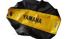 SEAT COVER ULTRAGRIPP YAMAHA BANSHEE  350 YFZ YELLOW & BLACK,GRIPPER ANNIVERSARY