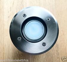 FARETTO ESTERNO INCASSO CARRABILE IP66 Con Lampada LED 10W 230V  GU10  D.110