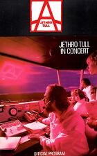 JETHRO TULL 1980 A TOUR U.S. CONCERT PROGRAM BOOK WITH ORIGINAL PATCH