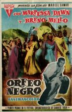 PROGRAMA CINE: ORFEO NEGRO, MARPESSA DAWN Y BRENO MELLO