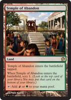 MTG Magic - (R) Theros - Temple of Abandon - SP