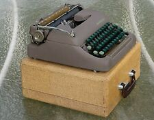 Vintage Smith Corona Sterling Typewriter With Case