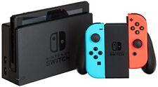 Consolas Nintendo switch Azul/rojo Neón Splatoon 2
