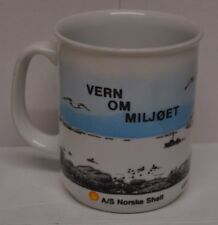 A/s norske Shell FIGGJO Norvège Mug Thé Tasse à café Huile Gaz Vern OM miljoet