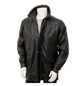 Bigdans.Larger mens Black Leather jackets. sizes S/ M/ L /XL/ 2XL/3XL/4XL