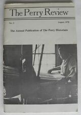 The Perry Review Perry Co PA 1978, Liggetts of Clinton Foundry, New Bloomfield