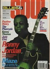 Ronny Jordan Blues & Soul 1993  Frankie Beverley & Maze  Pauline Henry Judy Clay