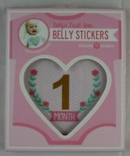 Cr Gibson Baby Girl Heart Month Stickers